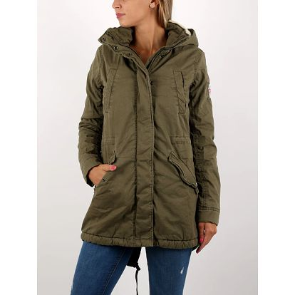 Bunda Superdry WINTER ROOKIE MILITARY PARKA Zelená