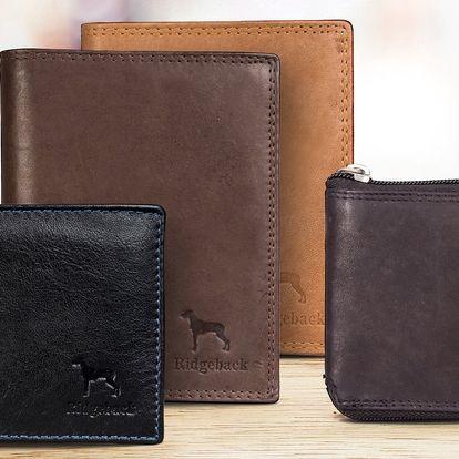 Elegantní kožené peněženky pro pány