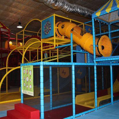 Celodenní jednorázový vstup do dětské herny Brumbambule