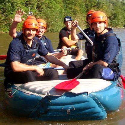 Rafting na řece Váh v Liptovském Mikuláši