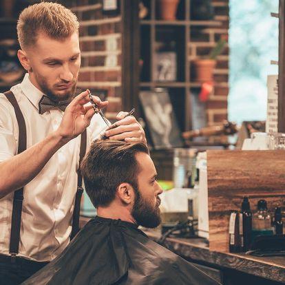 Exkluzivní balíček: gentlemanská péče v barber shopu
