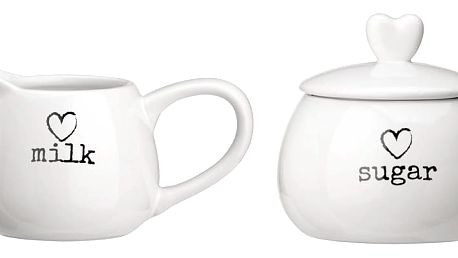 Set cukřenky a mléčenky Premier Housewares Charm