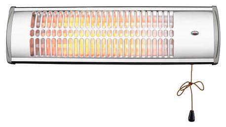 Zářič/ohřívač ELEM WTRHM15003 stříbrný