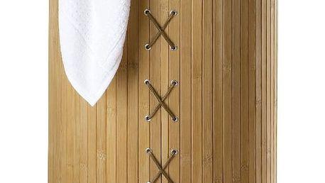Bambusový koš na prádlo Wenko Bina