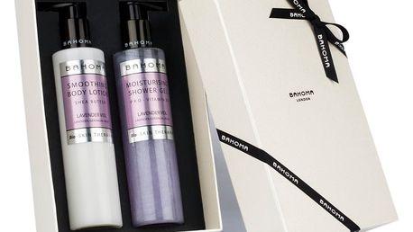 Set sprchového gelu a tělového mléka Bahoma London Lavender Veil