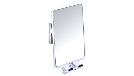 Zrcadlo se 2 háčky bez nutnosti vrtání Wenko Vacuum-Loc, až33kg