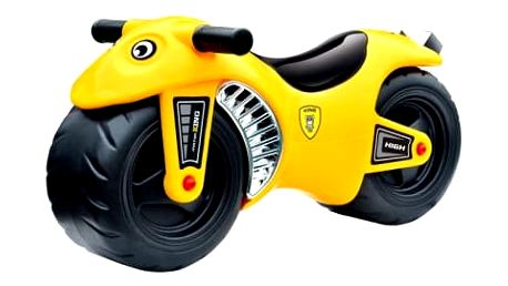 G21 BIKE 27881 Motorka žlutá