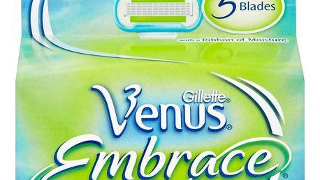 GILLETTE Venus Embrace náhradní hlavice 4 ks