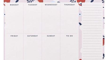 Týdenní organizér Busy B Keep Up