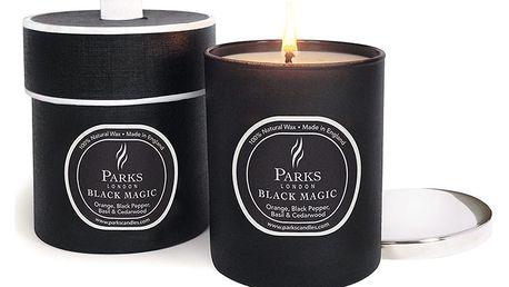 Svíčka Magic Candles, 50 hodin hoření, vůně pomeranče, černého pepře a cedru