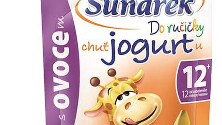 12x SUNÁREK Do ručičky s ovocem a jogurtem (80 g) – ovocný příkrm