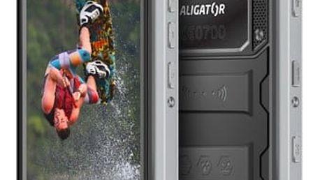 Mobilní telefon Aligator RX550 eXtremo Dual SIM černý + dárek (ARX550BB)
