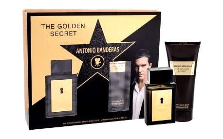 Antonio Banderas The Golden Secret EDT dárková sada M - EDT 50 ml + balzám po holení 100 ml