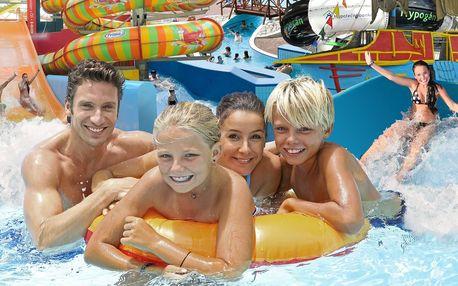 Rodinný vstup na 2 hodiny do Aquapalace Praha