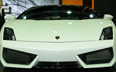 Jízda v Lamborghini Gallardo LP560 Spyder 15km