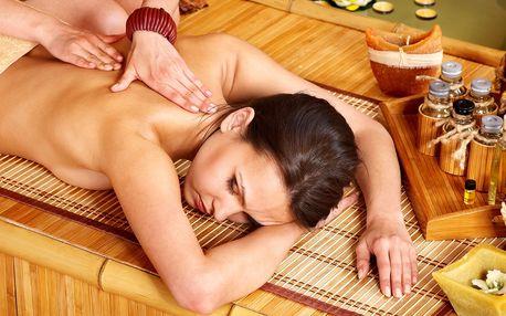 Masáž horkými oleji proti stresu