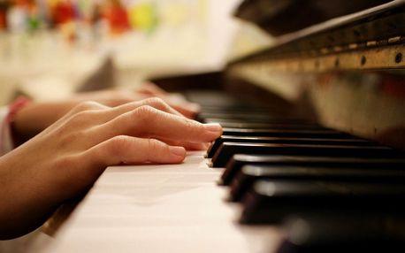 Lekce klavíru