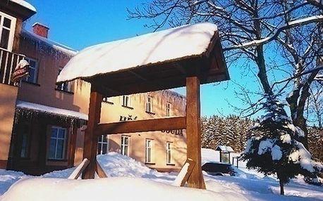 2 až 6denní last minute dovolená pro 2 s wellness v Hříběcí boudě v Krkonoších