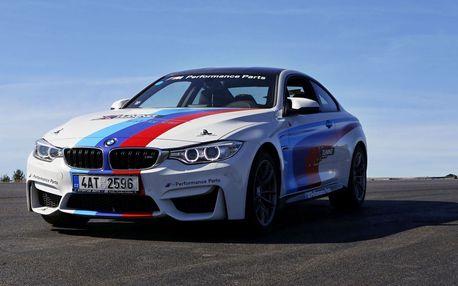 Jízda v BMW M4 na polygonu vč. paliva