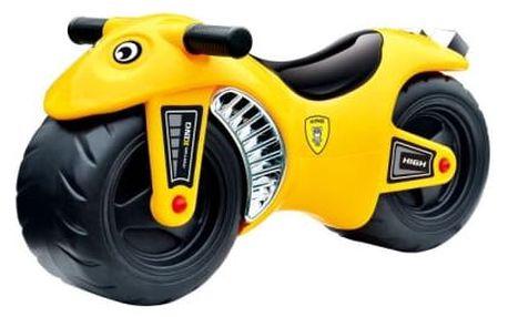 G21 27881 Motorka BIKE žlutá