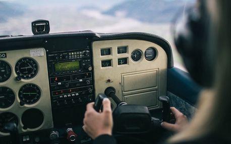 Staňte se opravdovým pilotem letadla