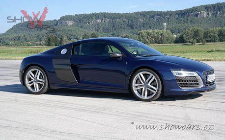 Nezapomenutelná jízda v Audi R8 V10 PLUS