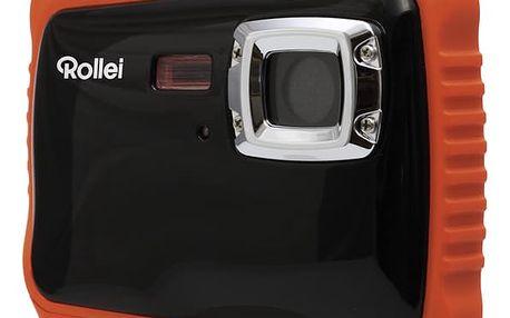 Digitální fotoaparát Rollei Sportsline 65 černý/oranžový