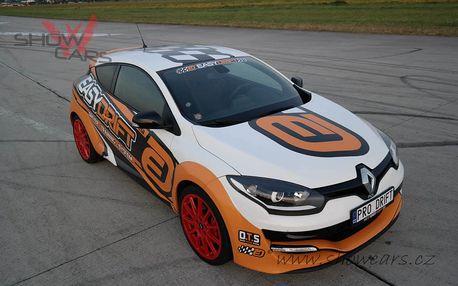Super jízda v Renault Megane RS Trophy na letiště