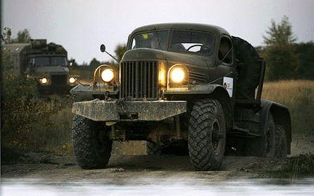 Řízení vojenského nákladního auta
