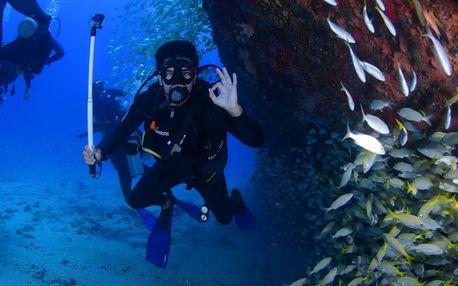 Kompletní potápěčský kurz ve volné vodě