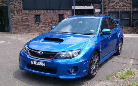Jízda v Subaru Impreza WRX STI vč. palivo