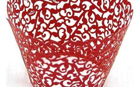 50 kusů ozdobných košíčků na muffiny či cupcaky - 10 barev
