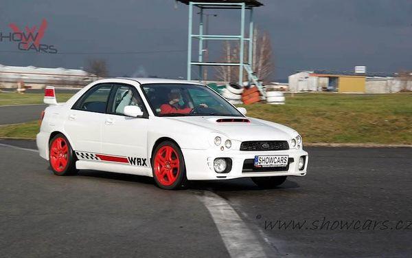 Rallye Challenge v Subaru Impreza WRX STI 20 minut jízdy včetně pohonných hmot2