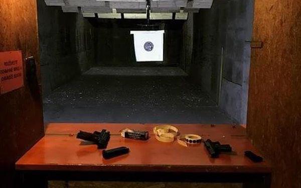 Balíček akční střelby na kryté střelnici pro 2 osoby2
