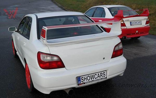 Rallye Challenge v Subaru Impreza WRX STI 20 minut jízdy včetně pohonných hmot3