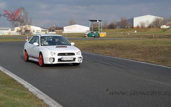Rallye Challenge v Subaru Impreza WRX STI 20 minut jízdy včetně pohonných hmot4