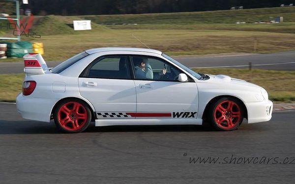 Rallye Challenge v Subaru Impreza WRX STI 20 minut jízdy včetně pohonných hmot5