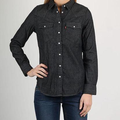 Košile LEVI'S TAILRD CLASSIC WESTERN VINTAGE BLACKF Černá