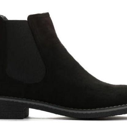 Dámské černé kotníkové boty Iggy 9095