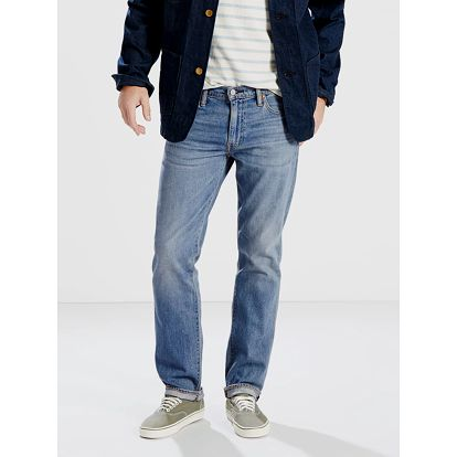 Džíny LEVI'S 504™REGULAR STRAIGHT FIT Modrá