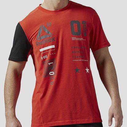 Tričko Reebok OS ACTIV GRPH TOP Červená