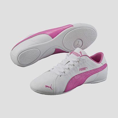 Boty Puma Janine Dance 2 white-phlox pink Bílá