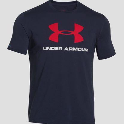 Tričko Under Armour CC Sportstyle Logo Modrá