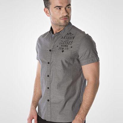 Košile SAM 73 ME 700 Černá