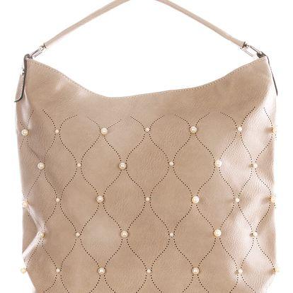 Sara Moda Fashion dámská kabelka s perly velká
