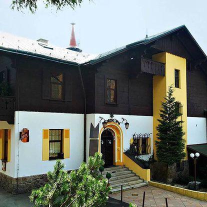 Hotel Orion s výhledem na Ještěd s polopenzí, děti do 15 let zdarma