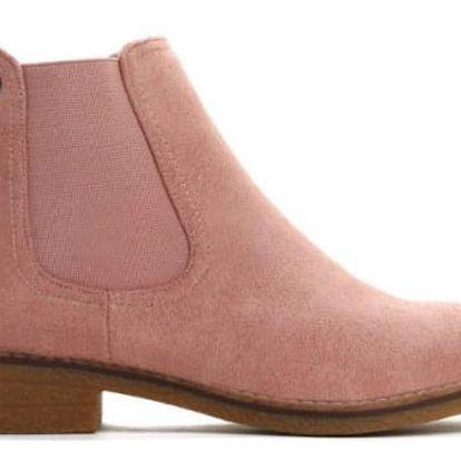 Dámské růžové kotníkové boty Iggy 9095