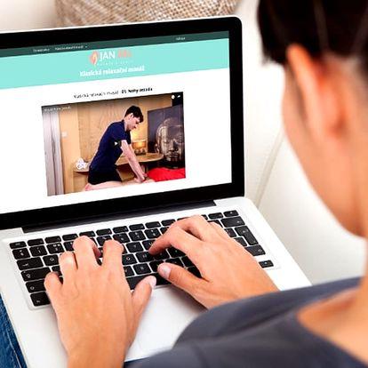 Roční přístup do online kurzu klasických relaxačních masáží, 10 videolekcí a spousta bonusů.