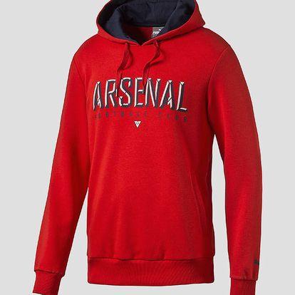 Mikina Puma Arsenal Fan Hoody high risk red Červená