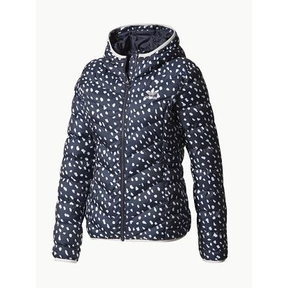 Bunda adidas Originals SLIM JACKET AOP Bílá